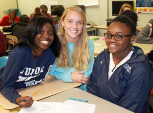 2016-02-29 Millbrook HS group w releases Adja Brooke Alicia