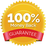 100% Money Back Garantee